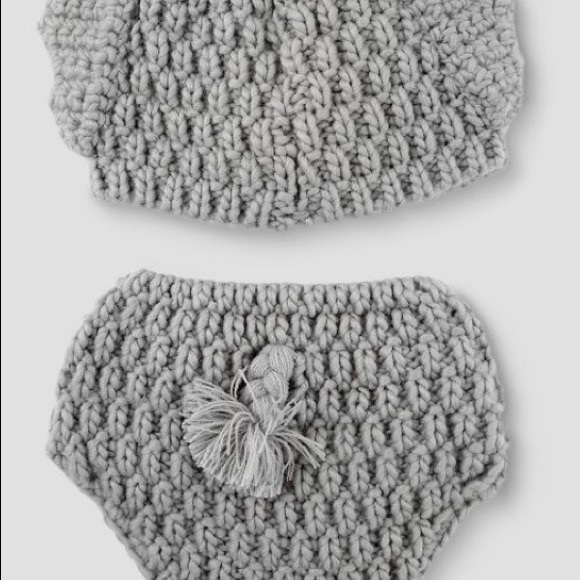 wa8a4e009 baby elephant hat and diaper cover set - wattaonthego.com | 580x580